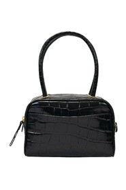 Martin Bag in Croc Embossed Leather