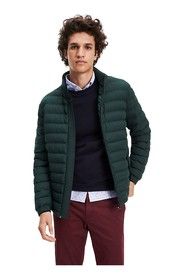 TOMMY HILFIGER MW0MW11495 STRETCH QUILTED JACKET AND JACKETS Men GREEN