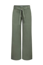 Grønn Lois Lois Linen Light - Noemi Bukse