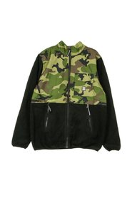 Pile Fleece Channing Mock Jacket