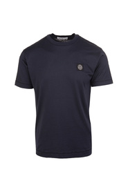 24113 T-shirt i bomuldsjersey, farvet ved beklædning