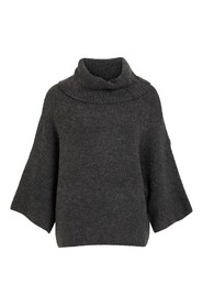 Rollneck 7/8 Sleeve Top