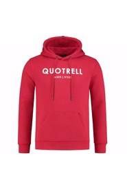 Quotrell hoodie red white