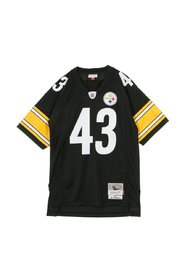 American Football Tunic NFL Legacy Jersey Troy Polamalu No43 Pittsbrugh Steelers 2005 Home