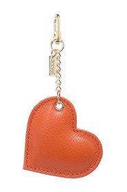 LEATHER HEART CHARM