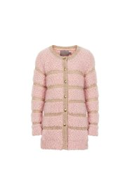 Creamie - Cardigan Fluffy (820777) - Rose Smoke