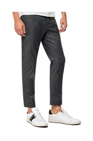 Chino trousers with buttons