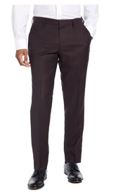 Dress Pants  Flat Front Wool Stretch