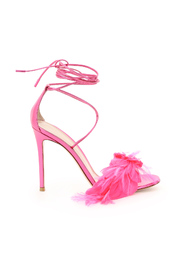 zephir sandals with feathers