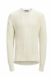 Knitted Pullover Textured panel