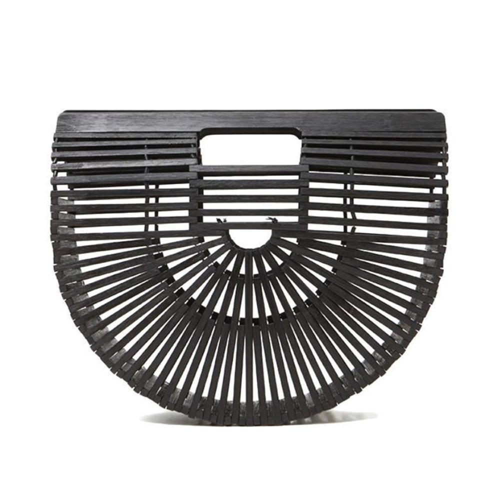 BIBI Black Bamboo Bag