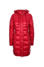 Woman 021BD35008 red down jacket
