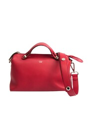pre-owned By The Way Medium 8BL124 Leather Handbag Shoulder Bag