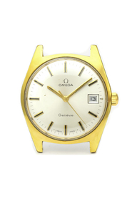 Pre-owned Geneve Mechanical Gold Plated Men's Dress Watch 136.041