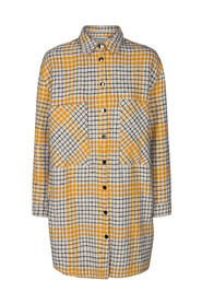 Novera check shirt jacket