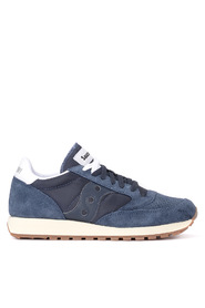 Jazz Vintage fabric suede tessuto and leather sneaker