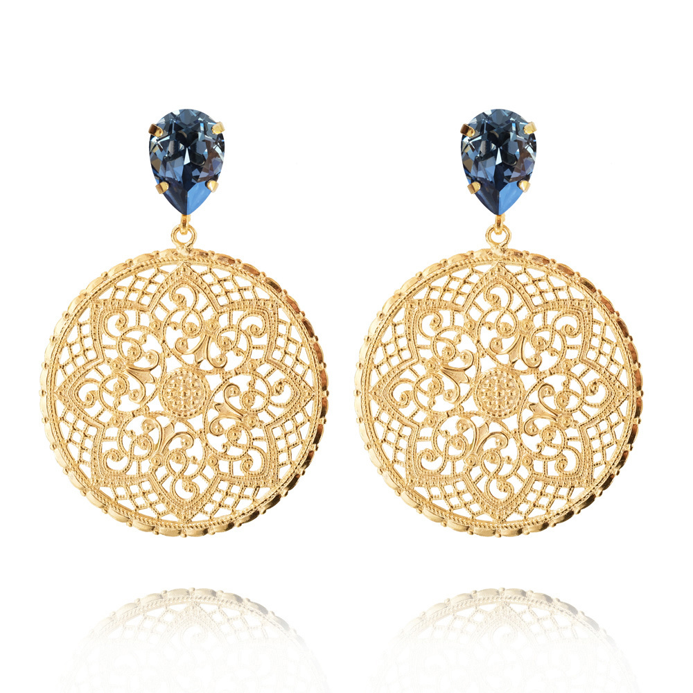 Alexandra Earrings montana - Caroline svedbom