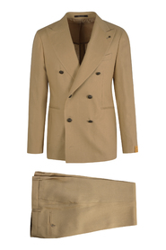 DOUBLEBREASTED LINEN SUIT