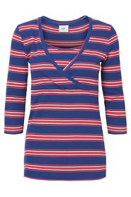 3/4 sleeved top Striped
