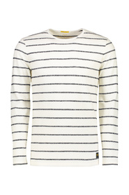 long sleeve t-shirt striped close fitting (8024024 - 494)