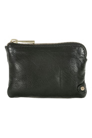 Small coin purse in leather