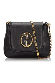 Leather 1973 Chain Crossbody Bag