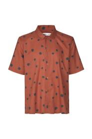 Rust Samsøe & Samsøe Avan Jx Shirt Aop 11515 Skjorter H