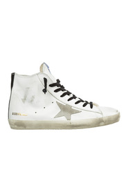 men's shoes high top leather trainers sneakers francy