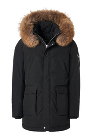 Rick down jacket with faux fur