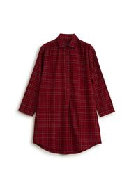 Holiday Womens Checked Flannel Nightshirt