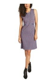 Oasis dress in exclusive jacquard