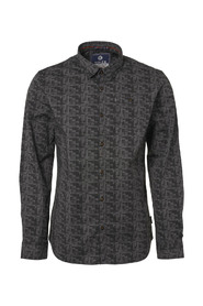 Shirt, l/s, all over printed | Freewear