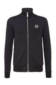 Sweatshirt zippé strassé MJB0468 SEVENTY EIGHT