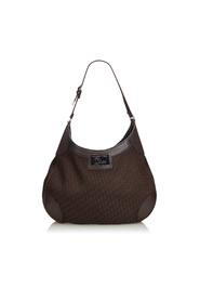Oblique Jacquard Hobo Bag