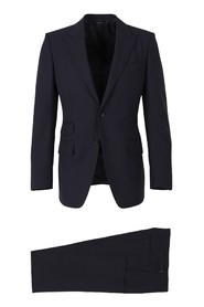 Wool slim suit