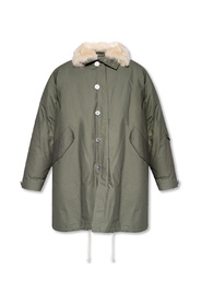 Double-layered parka