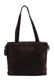 Front Large Upper Zip Tote Bag