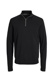 Knitted Pullover Half-zip