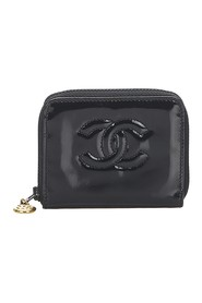 Patent Leather Coin Pouch