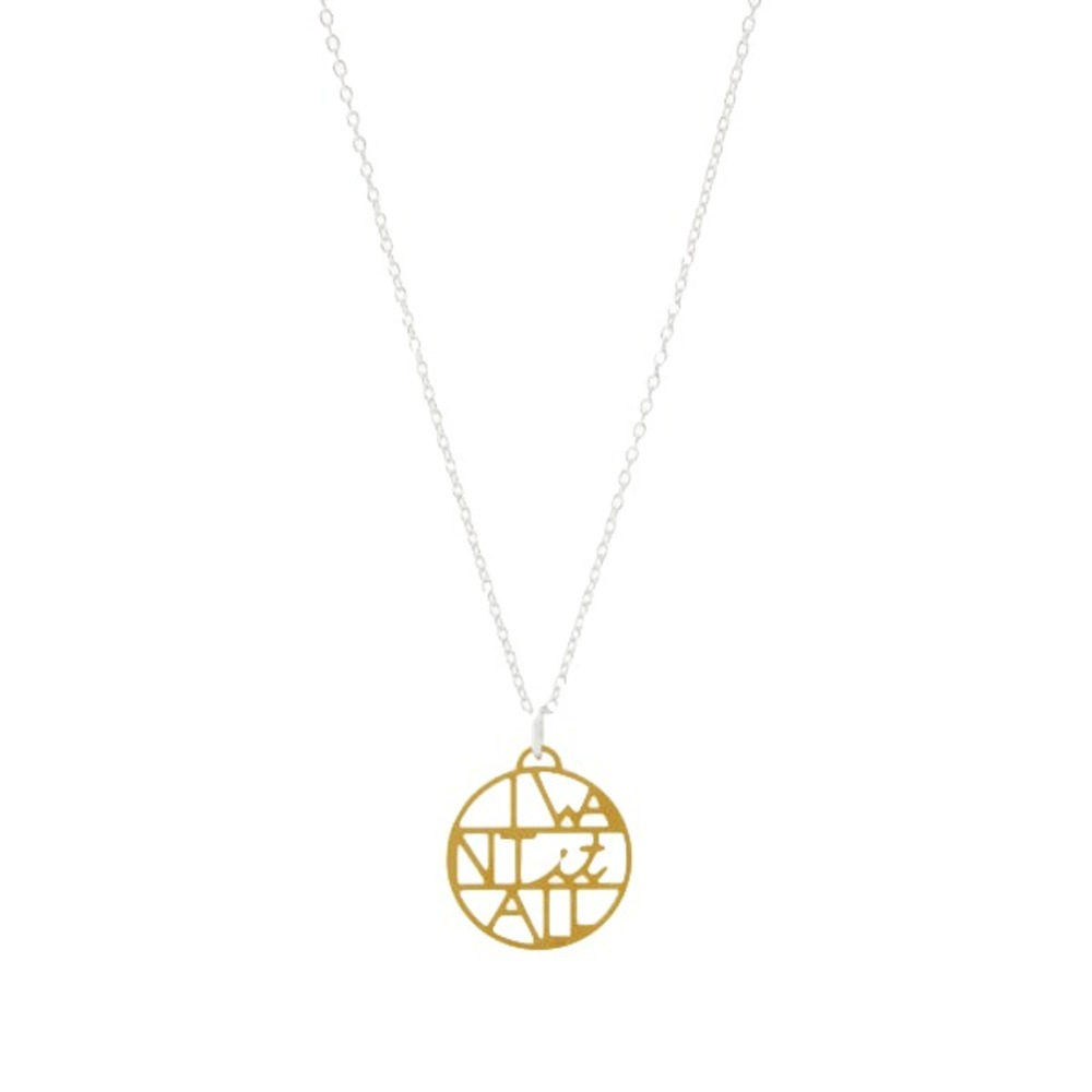 AndeliusGribbe I Want It All Necklace Silver and Gold