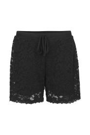 Svart Rosemunde Shorts