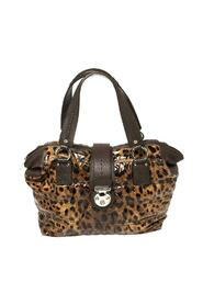 Leopard Print Patent Leather Miss Very Sexy Satchel