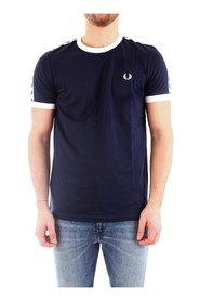 FRED PERRY M6347 T-SHIRT Men BLUE