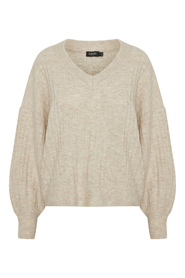 Angel Rib V-Neck Pullover