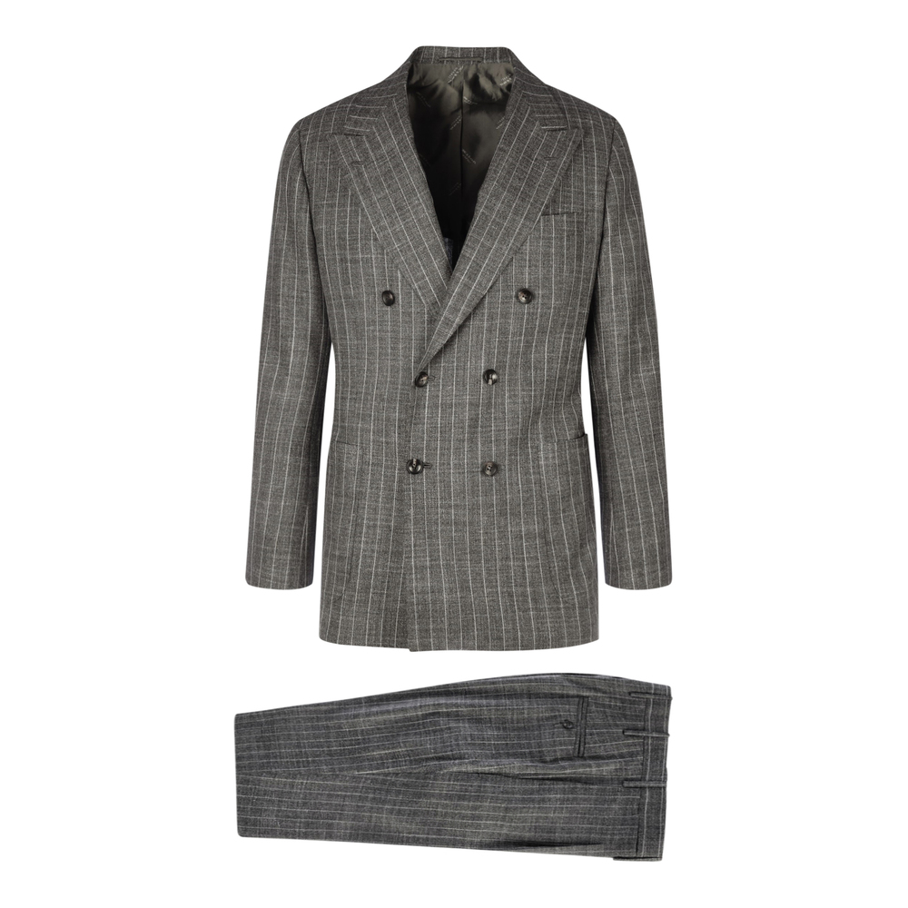 Doublebreasted Suit Kiton