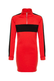 LMTD NLFLAMIA LS 1/2 ZIP SWEAT DRESS