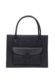 Valentina Low Ragusa Shopper in Black
