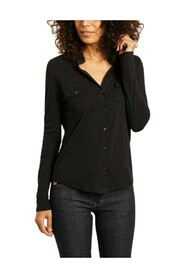 Clara cotton and cashmere shirt
