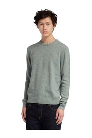 ROSECROFT LAMBSWOOL CREW NECK JUMPER