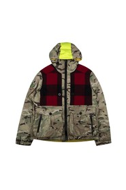 Hooded Down Jacket - Camo